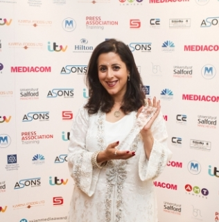 Anita Anand Is Radio Presenter Of The Year