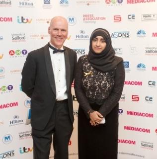 Asian Media Awards Supports Alan Henning Memorial Fund