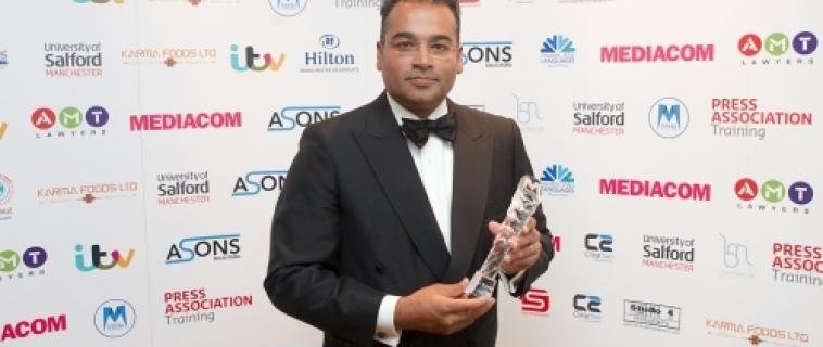 Krishnan Guru-Murthy Named Media Personality Of The Year