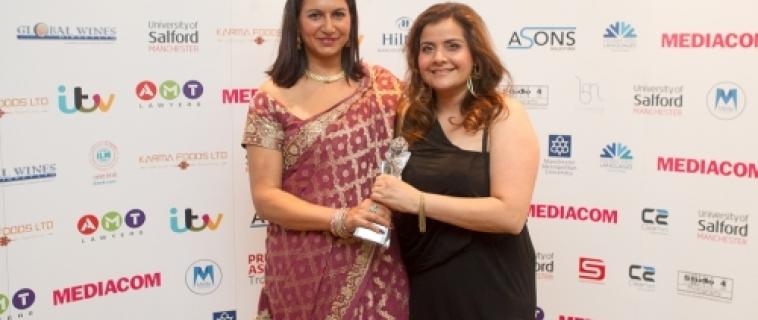 Nina Wadia Awarded Sophiya Haque Services To British Television Honour