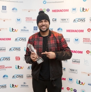 'Diary Of A Badman' Star Is Honoured With Best Video Channel Award