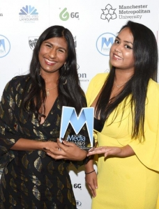 Ash Sarkar with Faima Bakar