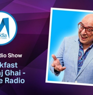 Breakfast with Raj Ghai Wins Best Radio Show 2020 Award