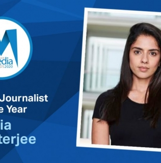 Ria Chatterjee Wins Regional Journalist of the Year 2020 Award