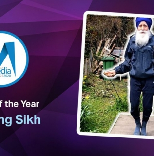 Uplifting Tale of the 'Skipping Sikh' is Report of the Year 2020