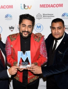 Best Radio Show winner Bobby Friction