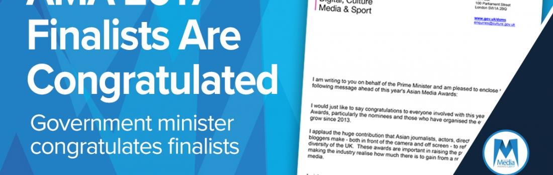 Finalists Congratulated Ahead of Asian Media Awards