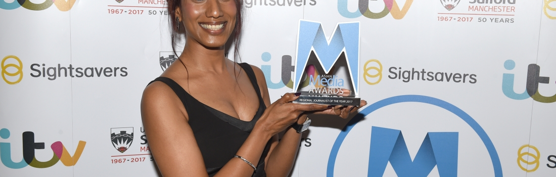 BBC Midlands Today's Audrey Dias is Regional Journalist of the Year 2017