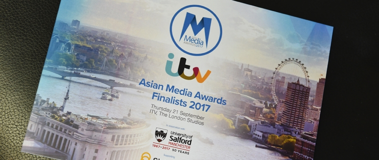 Asian Media Awards 2017 Finalists