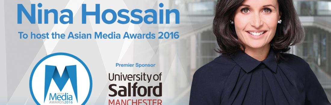 Nina Hossain to Host Asian Media Awards Ceremony
