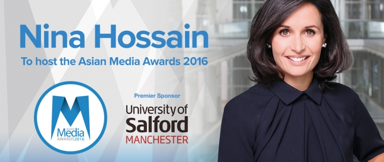 Nina Hossain to Host Asian Media Awards Ceremony