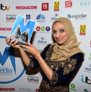 Fatima Manji Named Media Personality of the Year