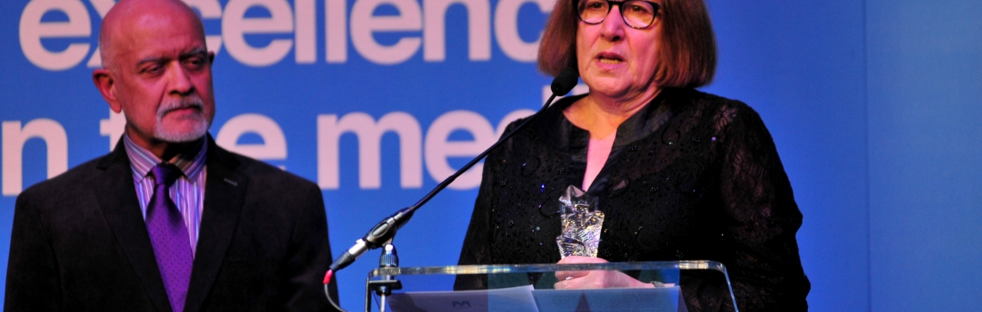Tara Prem Presented With Outstanding Contribution to Media Award 2015