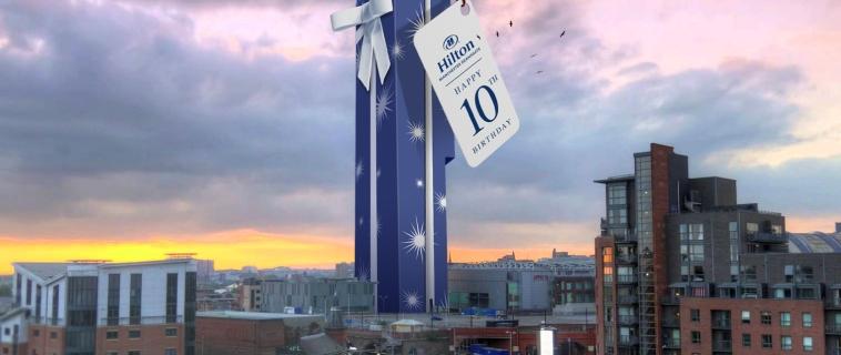 Hilton Manchester Deansgate Celebrates 10th Anniversary