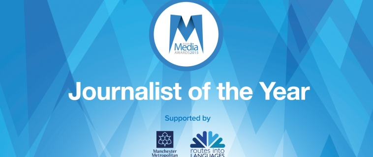 MMU and Routes into Languages Journalist of the Year finalists