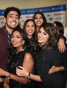 Members of BBC Asian Network celebrate
