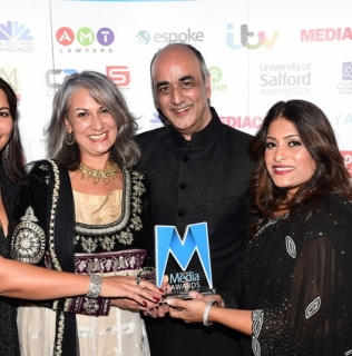 Art Malik, Fatima Manji and Shelley King among winners at AMAs