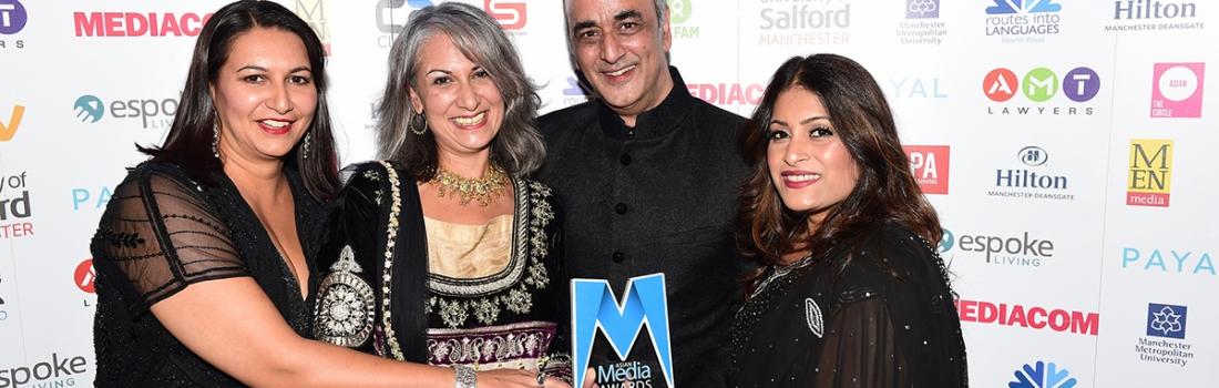 Art Malik, Fatima Manji and Shelley King among winners at AMAs