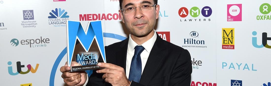 Political Reporter Arif Ansari Named 2016 Regional Journalist of the Year