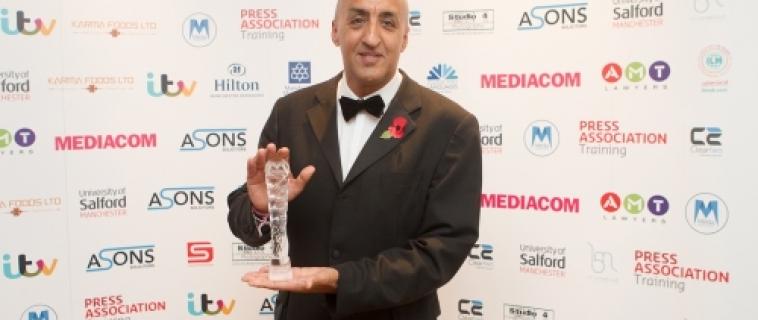 Shekhar Bhatia is MMU Journalist of the Year