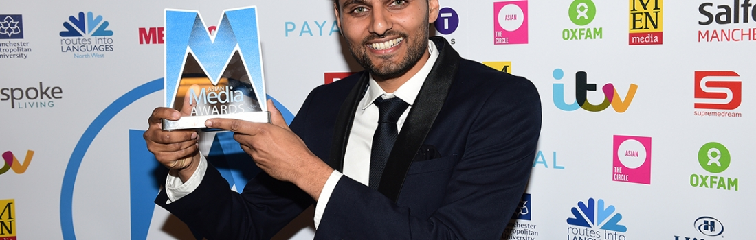 Jay Shetty Wins Espoke Living Best Blog Award 2016