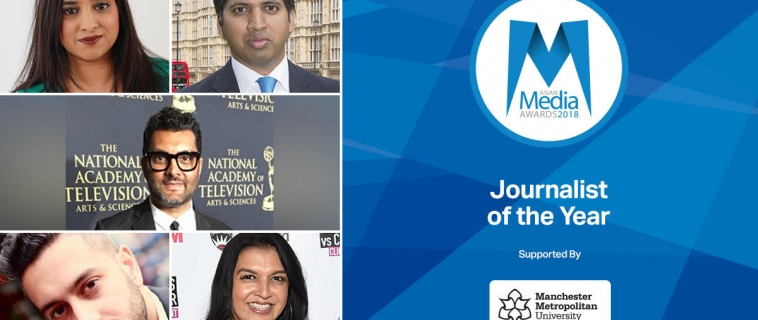 UK's Leading Journalists Feature In 2018 Shortlist